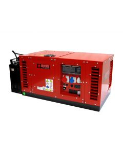 Бензиновый генератор Europower EPS12000TE в кожухе